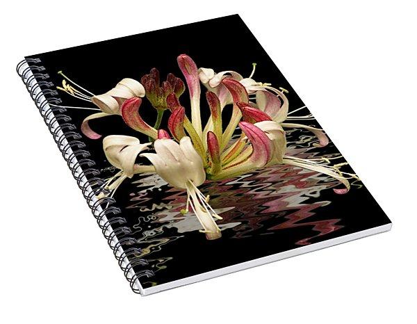 Honeysuckle Reflections Spiral Notebook