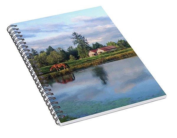 Hope Is Not A Dream - Hope Valley Art Spiral Notebook