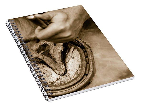 Horsehoe Fitting Spiral Notebook