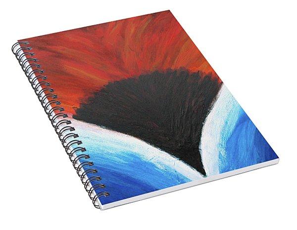 Hot And Wet Spiral Notebook
