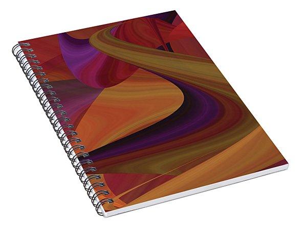 Hot Curvelicious Spiral Notebook