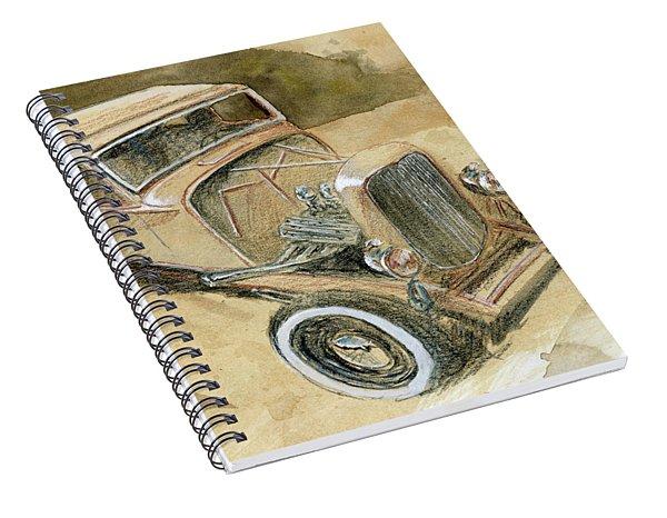 Hot Rod Tudor Spiral Notebook