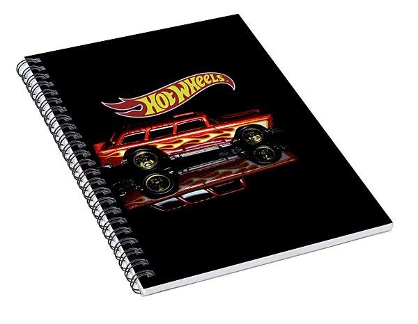 Hot Wheels '55 Chevy Nomad Spiral Notebook