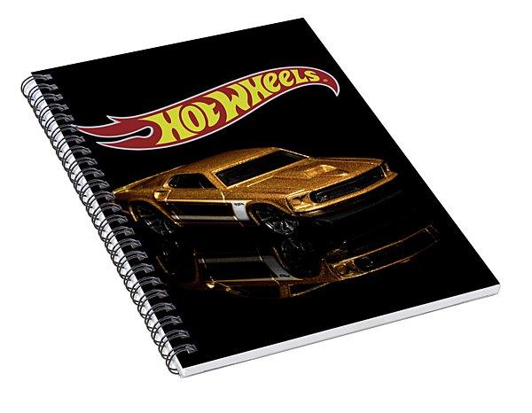 Hot Wheels '69 Ford Mustang 2 Spiral Notebook
