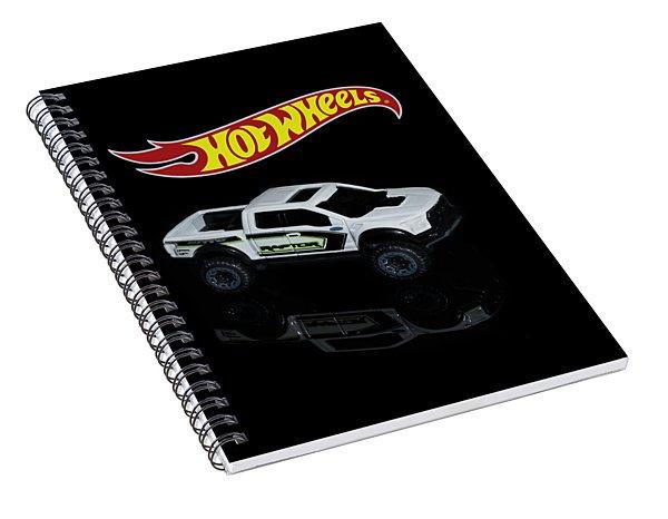 Hot Wheels Ford F-150 Raptor Spiral Notebook