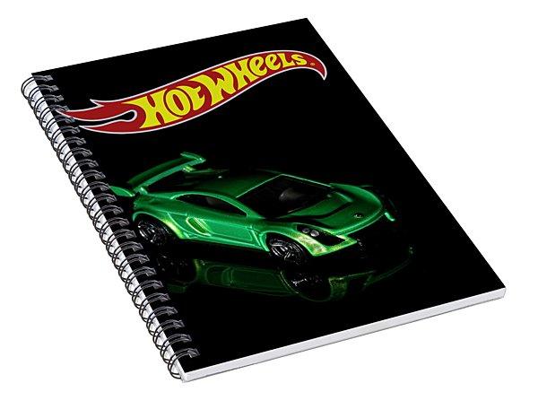 Hot Wheels Mastretta Mxr Spiral Notebook