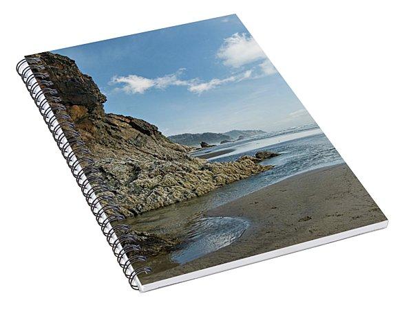 Hug Point Beach Spiral Notebook