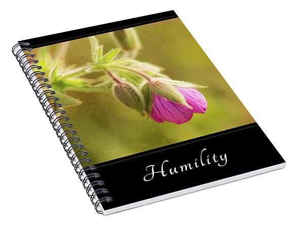 Humility 3 Spiral Notebook