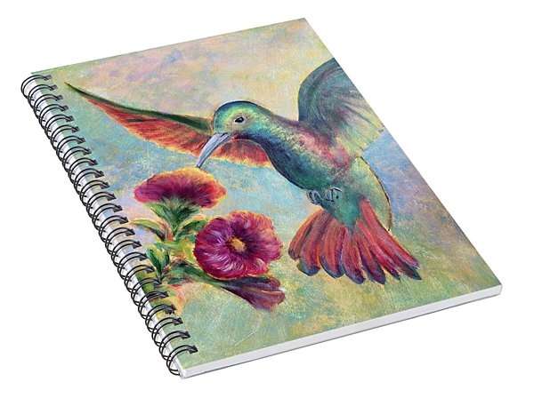 Humming Jewel Spiral Notebook