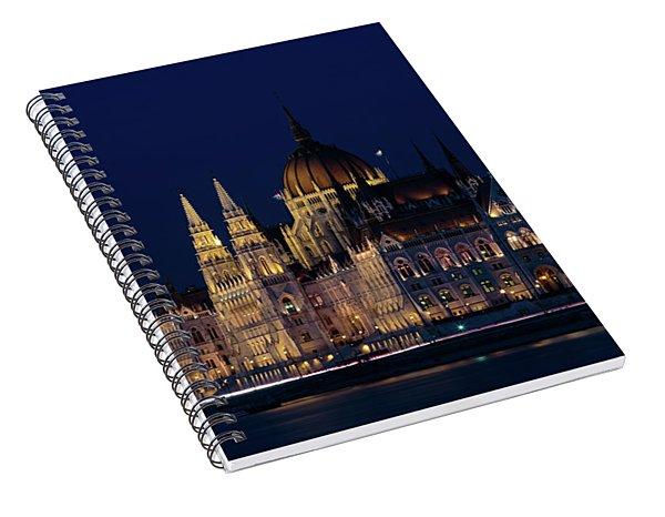 Hungarian Parliament Building #1 Spiral Notebook