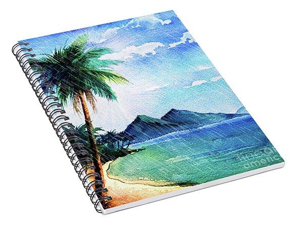 Hurricane Season Spiral Notebook