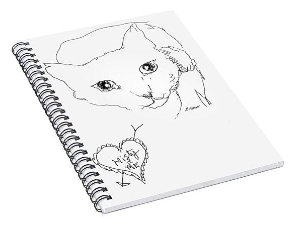 I Love Misty Spiral Notebook