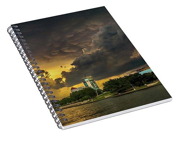 ict Storm - High Res Spiral Notebook