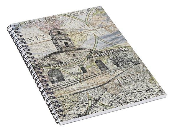 Iglesia De Santa Ana Passport Spiral Notebook