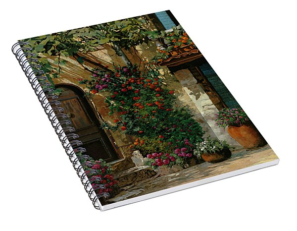 Il Giardino Francese Spiral Notebook