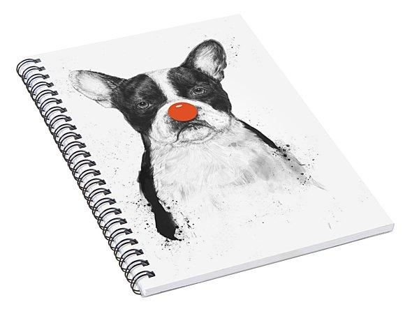 I'm Not Your Clown Spiral Notebook