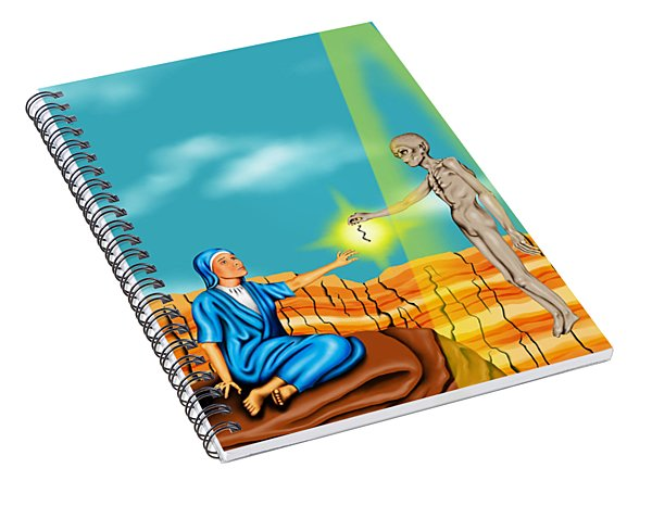 Immaculate Conception Spiral Notebook