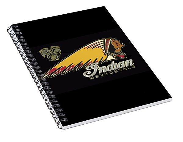 Indian Motorcycle Logo Series 2 Spiral Notebook
