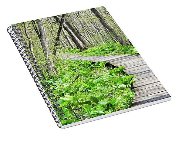 Indiana Dunes Great Green Marsh Boardwalk Spiral Notebook