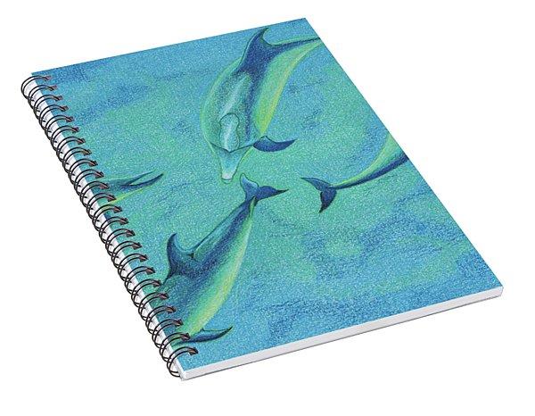 Infinity 2  Spiral Notebook