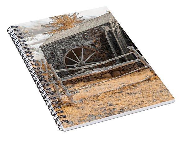Infrared Grist Mill Spiral Notebook