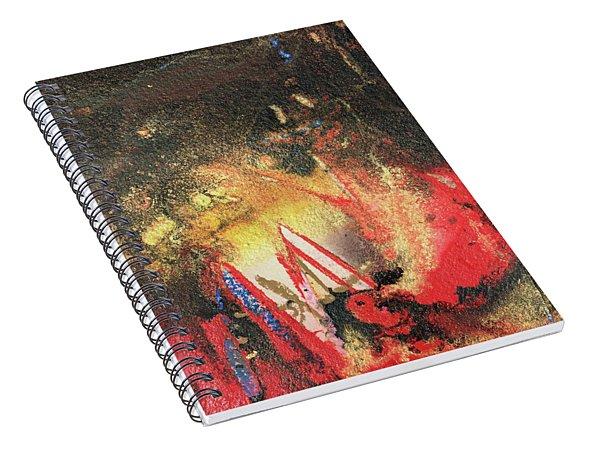 Inner Earth Spiral Notebook