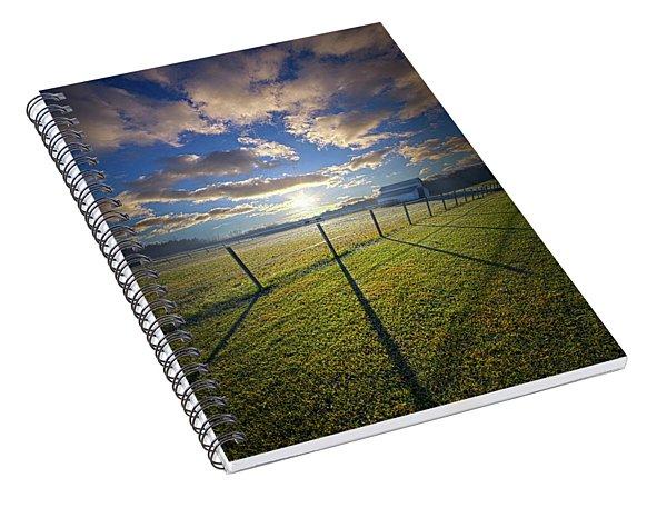 Into December Spiral Notebook
