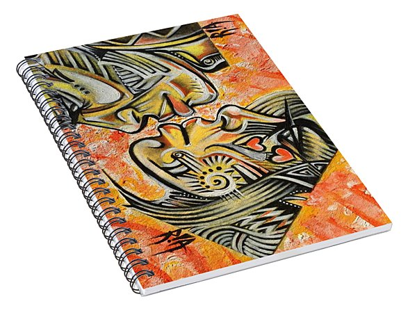 Intricate Intimacy Spiral Notebook
