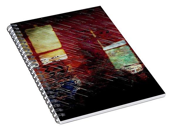 Introspection Spiral Notebook