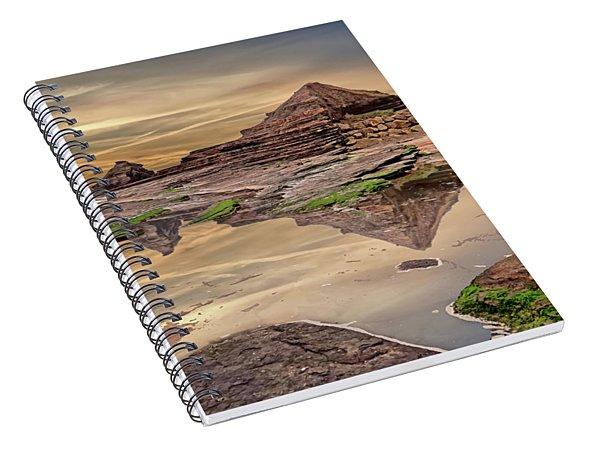 Irish Pyramids In Bundoran Spiral Notebook