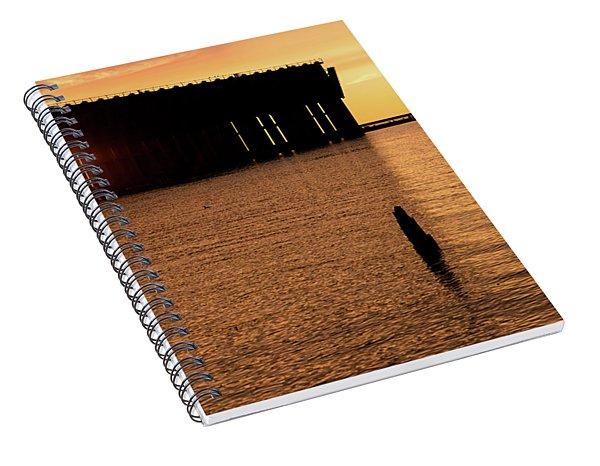 Iron Ore Dock Spiral Notebook