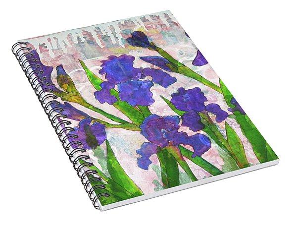Irresistible Irises Spiral Notebook