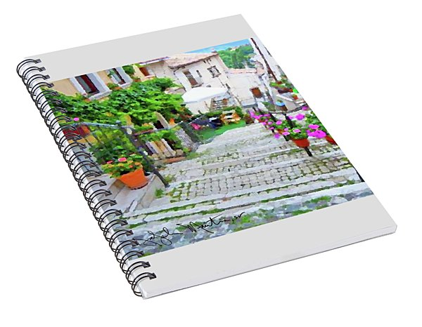Italy In The Spring  Spiral Notebook