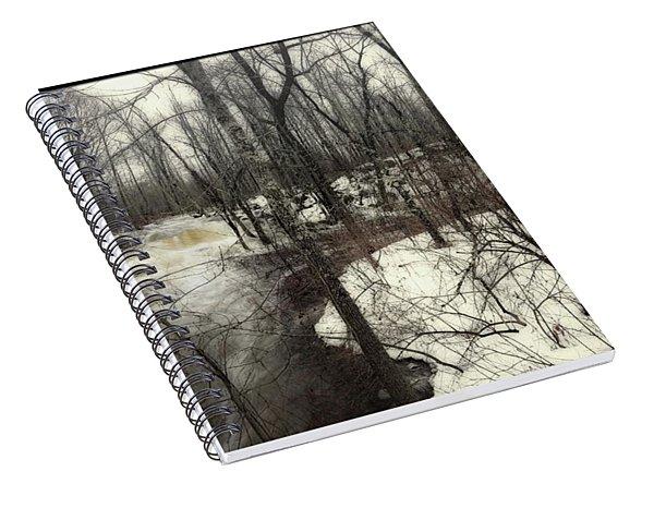 January Thaw At Hunter Brook Spiral Notebook