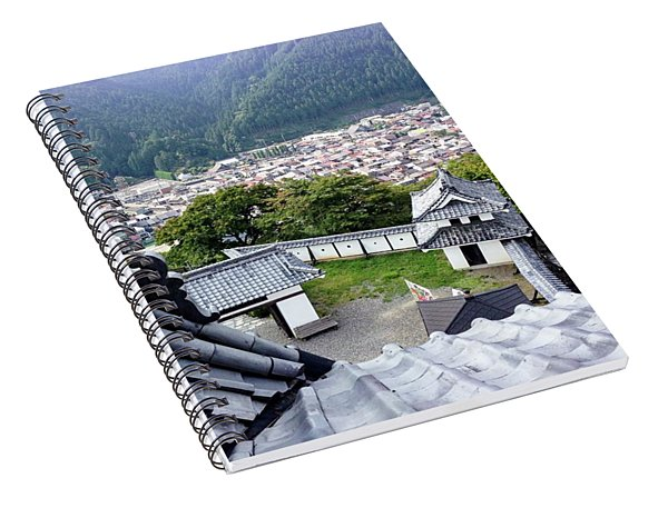 Japan - Gujyo Hachiman Castle 2 Spiral Notebook
