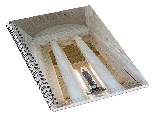 Jefferson Spiral Notebook