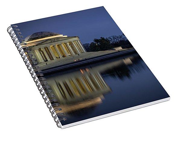 Jefferson Reflecting Spiral Notebook
