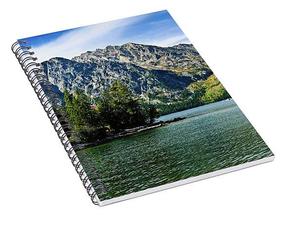 Jenny Lake Borderless Spiral Notebook