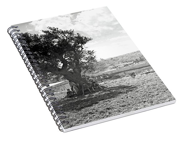 Jerusalem 1925 Little Shepherd Spiral Notebook