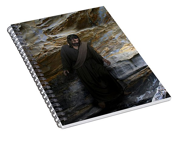 Jesus Christ- The Lord Is My Light And My Salvation Spiral Notebook