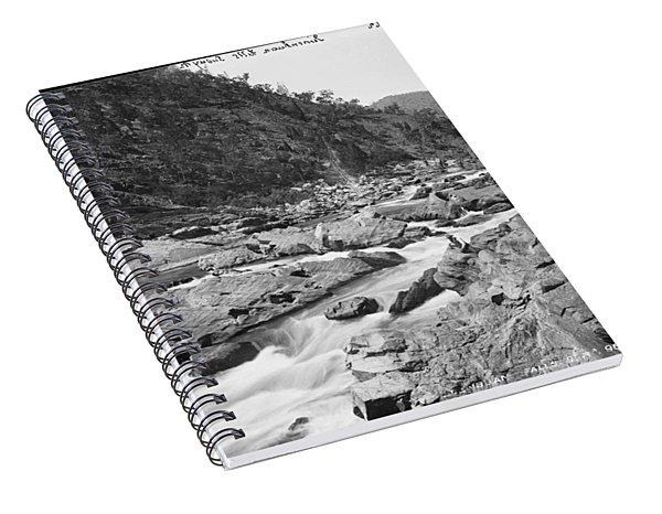 Jimenbuan Falls, Snowy River, Kerry And Co, Sydney, Australia, C. 1884-1917 Spiral Notebook