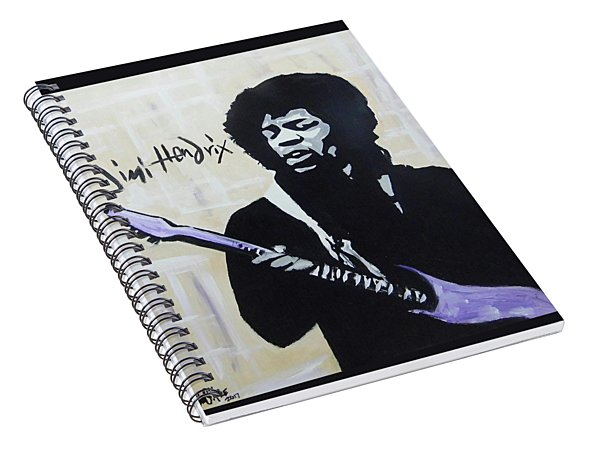 Jimi Gretness Spiral Notebook