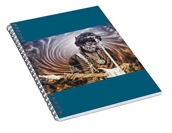 Jimi Hendrix - Legend Spiral Notebook