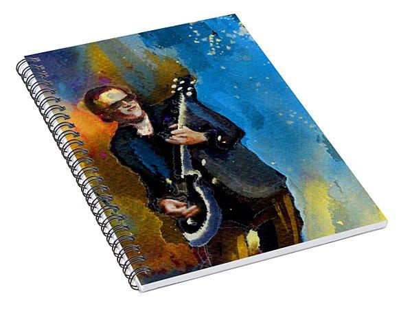 Joe Bonamassa 03 Bis Spiral Notebook