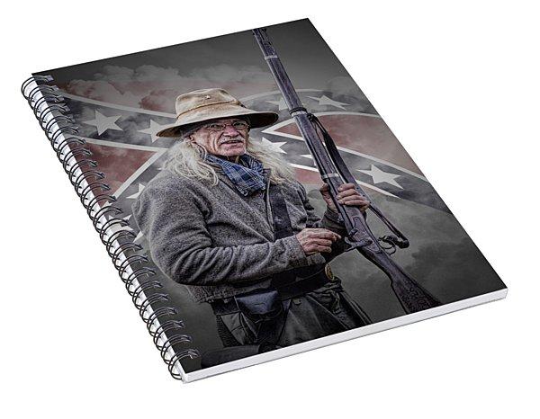 Johnny Reb Spiral Notebook