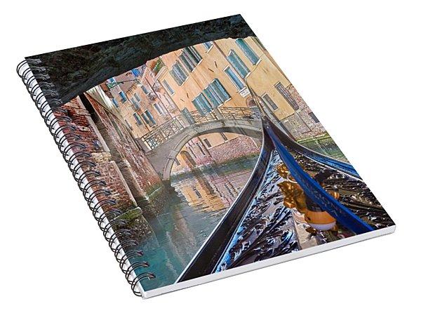 Journey Through Dreams Spiral Notebook
