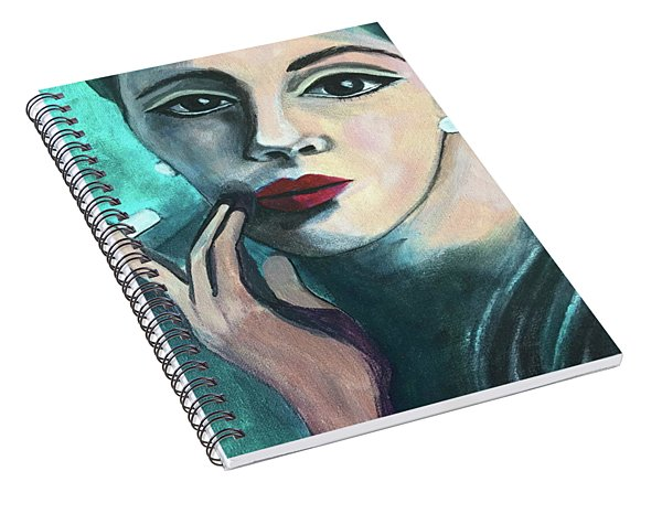 Silently Judging You Spiral Notebook