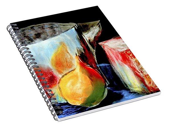 Jug With Fruit Spiral Notebook