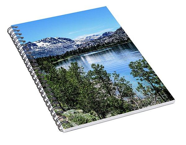 June Lake Portrait Spiral Notebook