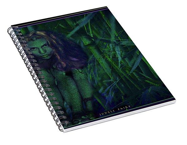 Jungle Fairy Spiral Notebook